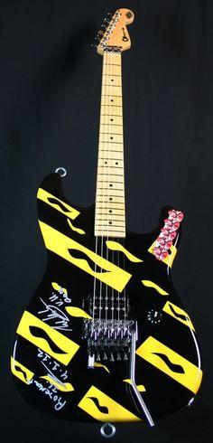 Eddie Van Halen - EVH Art Series Guitar #117
