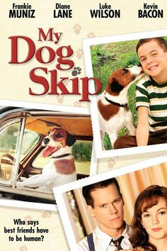 Directed by Jay Russell. With Frankie Muniz, Kevin Bacon, Diane Lane, Luke Wilson. A shy boy grows up in Mississippi with the help of his beloved dog, Skip. John Lee Hancock, Cody Linley, Frankie Muniz, Chick Flicks, Great Movies, Film Movie, The Life, Movies To Watch, Reading