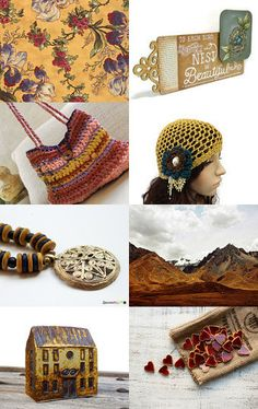 Give Me A Touch Of Mustard, Please by Carol Schmauder on Etsy--Pinned with TreasuryPin.com