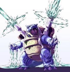 194 best blastoise images on pinterest pokemon pictures