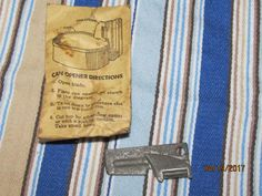 Vintage 1951 GG Green USA US Military Mess Kit Can Opener in Original Package Military Issue Dated by EvenTheKitchenSinkOH on Etsy