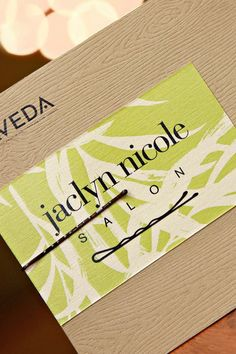 Love this idea/ It's the little things I love the real bobbie pin but could do without the one on the card. But still very creative! Salon Business, Business Card Design, Business Cards, Business Logo, Custom Logo Design, Graphic Design, Hair Salon Logos, Spa Menu, Salon Art