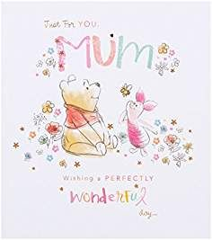 Pack Of 4 With Envelopes Disney Winnie The Pooh Birthday Cards