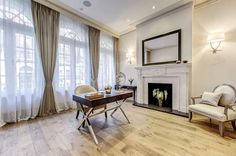 7 bedroom town house for sale in Hertford Street, Mayfair, London - Rightmove. Townhouse, Property For Sale, Curtains, Mirror, Bedroom, Furniture, Home Decor, House, Blinds