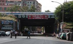 Roma Trasporti News - Lavori Tuscolana altezza ponte ferroviario dal 3 al 7 agosto