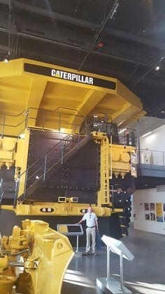 Caterpillar 797 Mining Truck at the Caterpillar Visiting Center #heavyequipment #caterpillar #catequipment #cat797 #mining #truck #BigIron #DirtMovers #catyellow #dumptruck