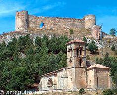 Aguilar de Campoo Ermita de Santa Cecilia y restos del castillo  http://www.arteguias.com/romanico_aguilar.htm
