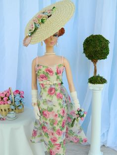 Straw Hat for Barbie