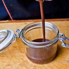 Egészséges csokoládé öntet recept