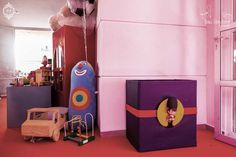 Produção de Festa Infantil tema Fábrica de Brinquedos by Patricia Junqueira