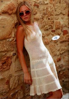 crochelinhasagulhas: Vestidos de crochê