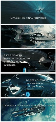 """""""Space; the final frontier."""""""