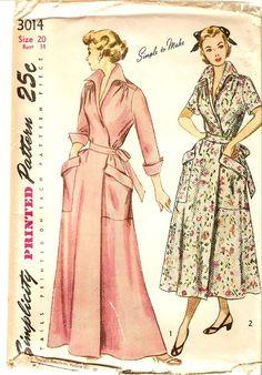 vintage housecoats