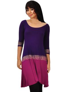 Shop now all the latest Kurti designs for women. Explore Cbazaar's huge collection of party wear and casual wear Indian Kurtis featuring a huge variety. Designer Kurtis Online, Magenta, Purple, Daily Wear, Casual Wear, Shop Now, Tunic Tops, Indian, How To Wear
