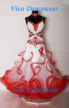 Ballroom latin competition dance dress style #004 bd004