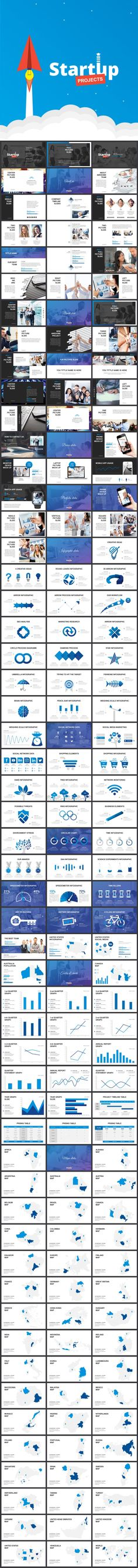 Start Up Projects - PowerPoint Template