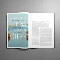 MagSpreads - Magazine Design and Editorial Inspiration: Interview - Santos Henarejos