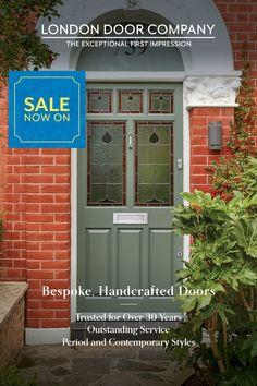 Contemporary Front Doors, Contemporary Style, Kerb Appeal, Free Brochure, Front Door Design, Bedroom Decor, New Homes, London, Outdoor Decor