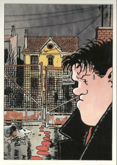 Nestor Burma, ill. Portfolio Tardi. Casterman 1997
