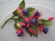 {Lovely two-tone Fuchsias by Its a Piece of Cake}