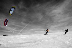 Snowkite Gliss-kite.fr Ecole française de Snowkite