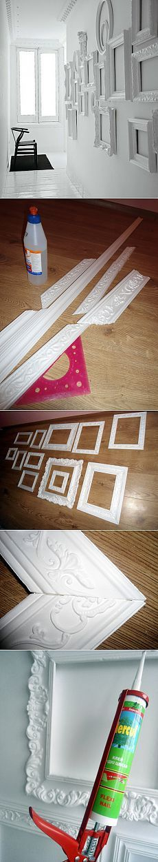 Self-made rámec pro fotografie s rukama