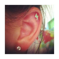 cartilage piercing | Tumblr found on Polyvore