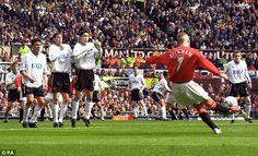 Beckham had previously worn the No 7 shirt at Manchester United before leaving in 2003