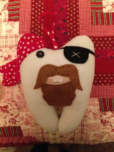 Pirate Tooth Fairy Pillow