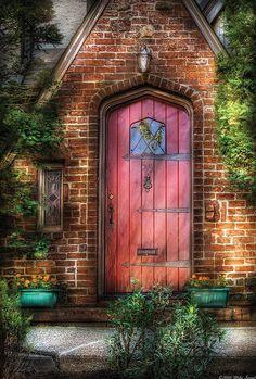 Door - Sweet as Gingerbread by Mike Savad Secret Garden Door, Garden Doors, Garden Gates, Cool Doors, Unique Doors, Portal, Door Entryway, Knobs And Knockers, Windows And Doors