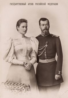 """delicate-flowers-of-the-past: """"""""Emperor Nicholas II and Empress Alexandra Feodorovna of Russia c. 1896 (x) """" """""""