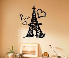 Paris Eiffel Tower Wall Decal Vinyl Stickers by BestDecalsUSA