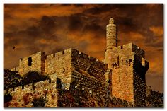Tower of David – Old City of Jerusalem – Israel