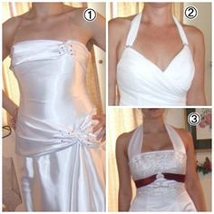 can you add straps to a strapless wedding dress - Google Search