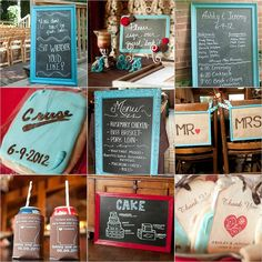 Some of our wedding details. Photos by Hudson Photography.