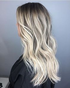 Rooty blonde bombshell. Color by @casskrause #hair #hairenvy #hairstyles #haircolor #bronde #blonde #rootyblonde #highlights #balayage #newandnow #inspiration #maneinterest