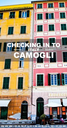 Discovering the other side of Portofino, You need to get to Camogli for some old Italy style charm