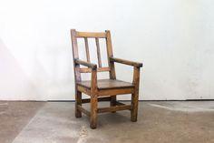 English Slat Back Childs Chair