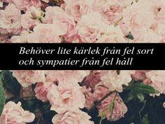 kärlekscitat Håkan Hellström