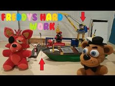 how to build lego foxy five nights at freddys youtube fnaf plush episode 13 freddys hard work youtube publicscrutiny Choice Image