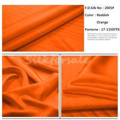 http://www.silkfabricwholesale.com/8mm-silk-habotai-fabric-reddish-orange.html     F.D. silk most professional 8mm silk habotai fabric-reddish orange supplier.