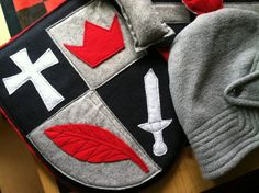 Knight Costume Giftset - Eco Friendly Adventure Gear - Kid Costume -Toddler Sized on Etsy, $125.00