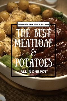 Meatloaf and Potatoes, all in one pot, instant pot