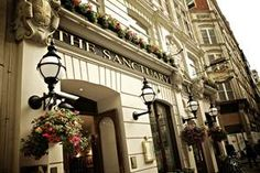 The Sanctuary House Hotel - London...FANTASTIC experience there, would always stay there in London.