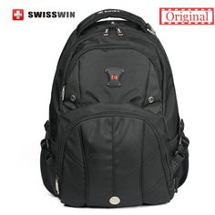 =>>Save onOriginal Swiss Brand Men's Daily Backpack Big Capacity 15.6 Laptop Backpack With Music Player Pocket and Airflow Back Sac a dosOriginal Swiss Brand Men's Daily Backpack Big Capacity 15.6 Laptop Backpack With Music Player Pocket and Airflow Back Sac a dosreviews and best price...Cleck Hot Deals >>> http://id356421807.cloudns.ditchyourip.com/32615137249.html images
