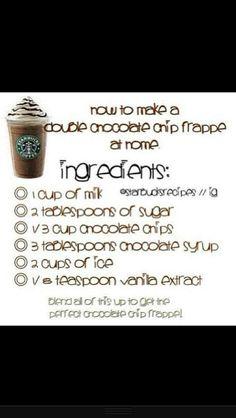 Homemade Starbucks !