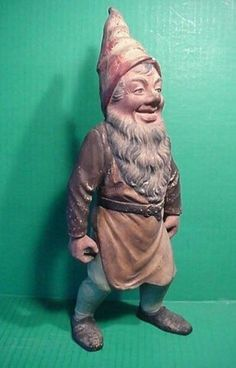 Vintage garden gnomes on Pinterest | Garden Gnomes, Gnomes and ...