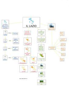 Mappe geografia: Lazio