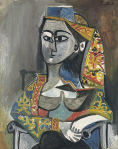 Pablo Picasso: Jacqueline (1955)