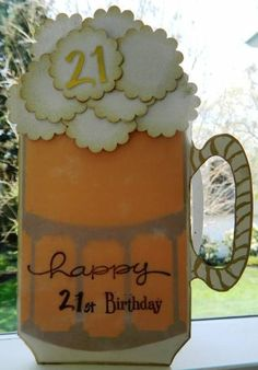 21st Birthday Beer Card Creative Cards For Him